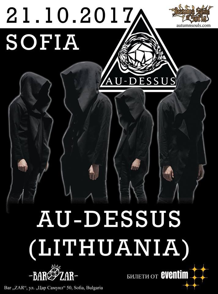 Au-Dessus & Zatokrev  в София на 21 октомври